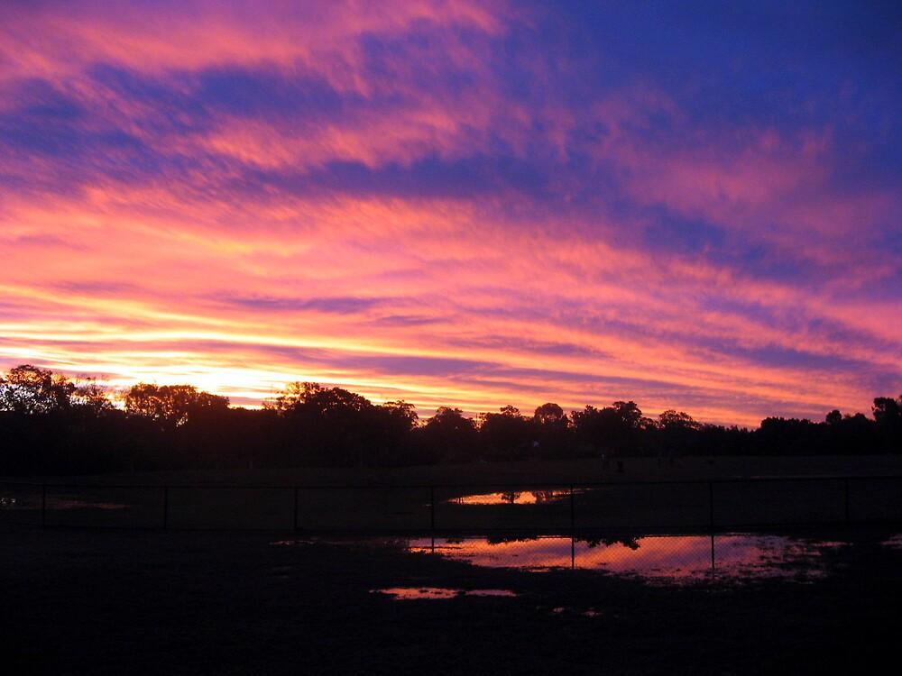 Sunset Wynnum by Rickstar