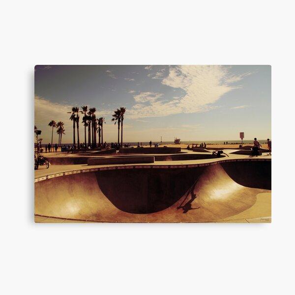 Skatepark Venice Beach Canvas Print
