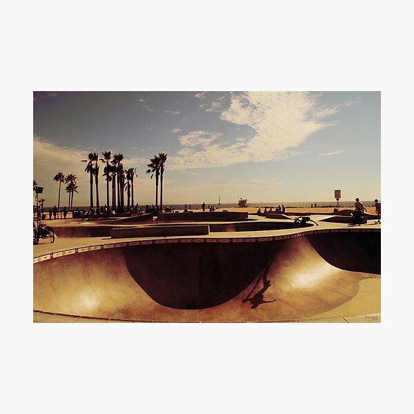 Skatepark Venice Beach Photographic Print