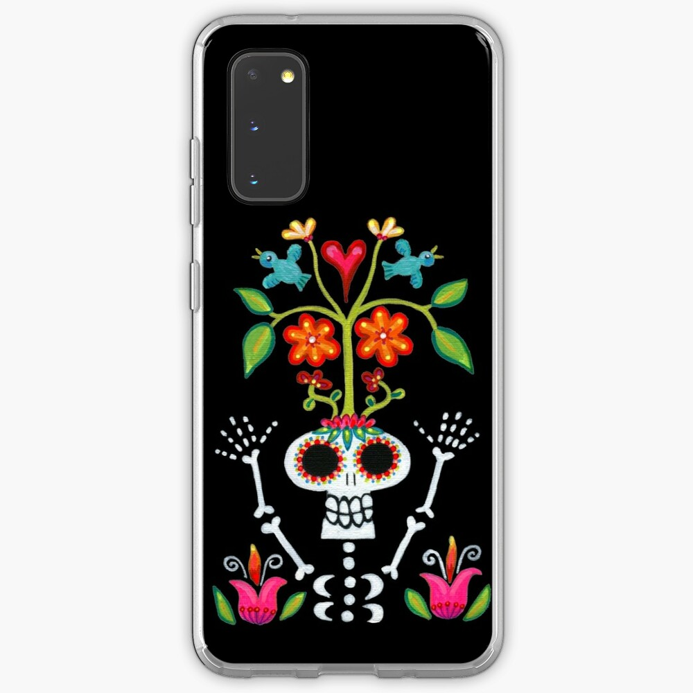 Happy Skelly with Tree Case & Skin for Samsung Galaxy