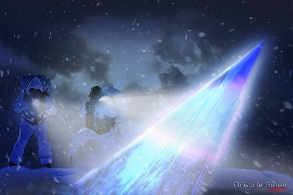 Fallen Angel by Christoffer Boman