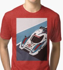Lancia LC2 Tri-blend T-Shirt
