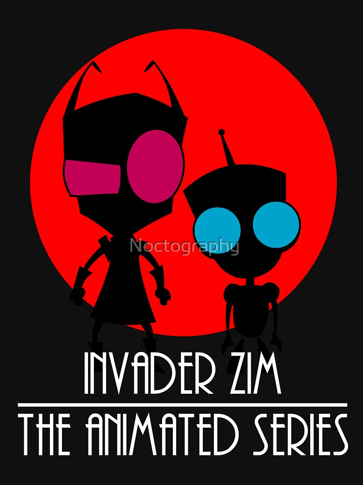 Invader Zim - The Animated Series by Noctography