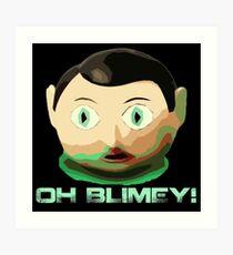 'Oh Blimey' - The Legend Frank Sidebottom Art Print