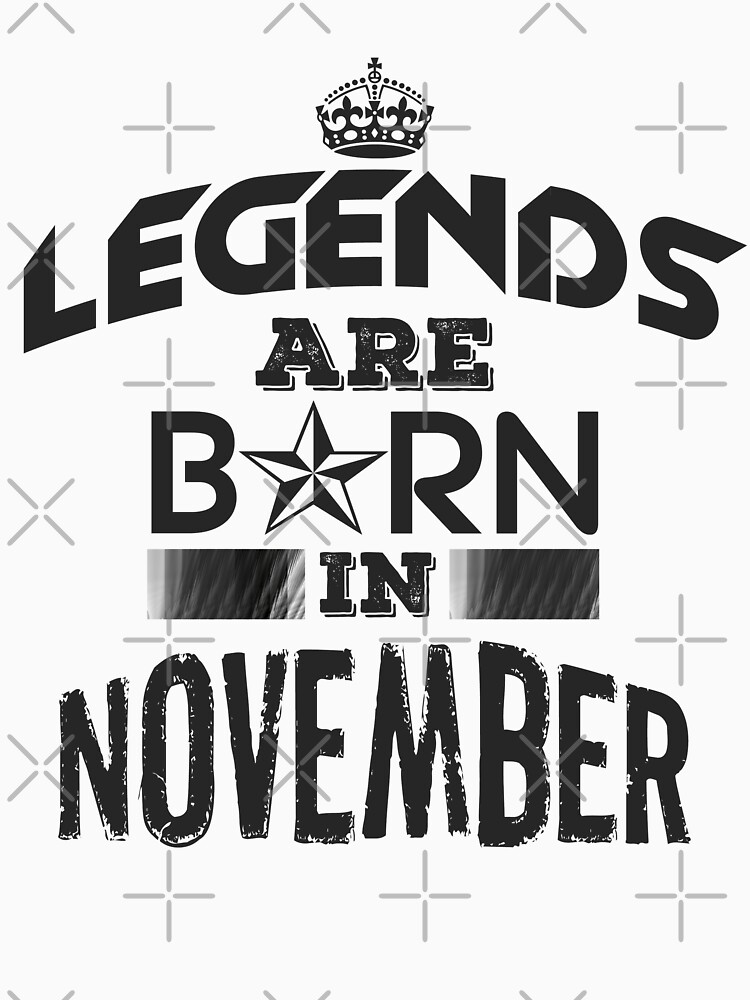 Legends Are Born - November by GoldyMaster07