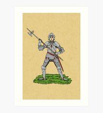 Fifteenth Century English Knight Art Print