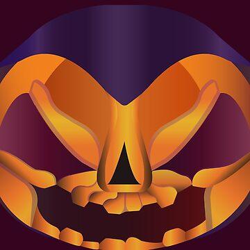 Scary halloween face by TIERRAdesigner
