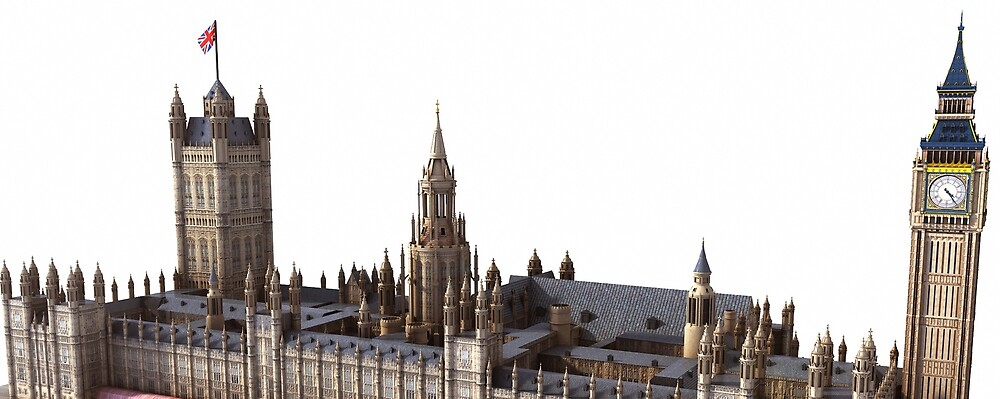 House of Parliaments. London by Marc  Mons