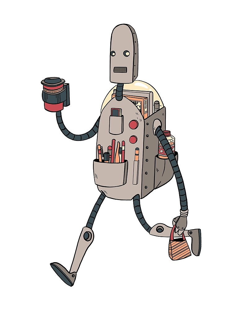 Schoolbot by VictoriaHamre