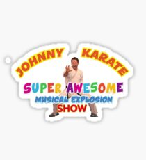 Johnny Karate Sticker
