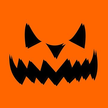 Spooky Scary Halloween Jack O'Lantern by DCPCreative