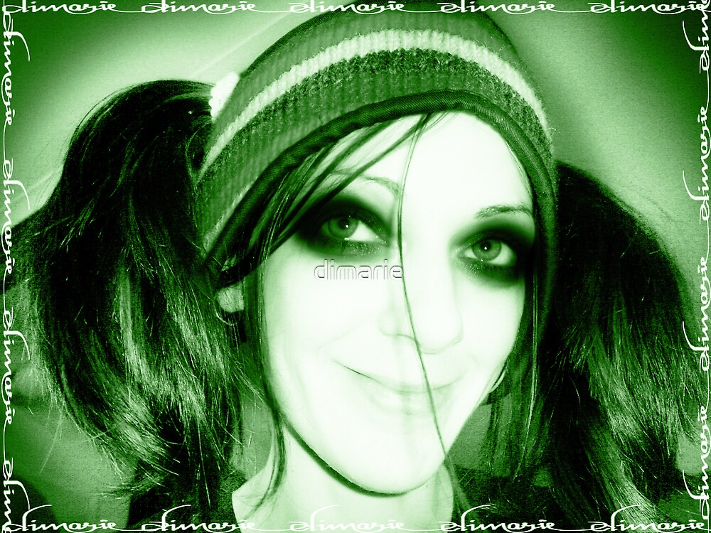 a true greeny by dimarie