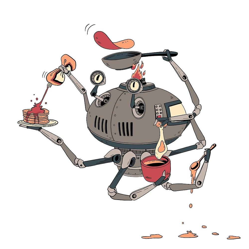 Pancake-bot by VictoriaHamre
