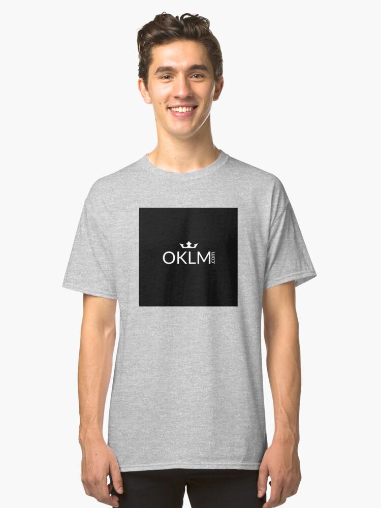 OKLM Classic T-Shirt Front