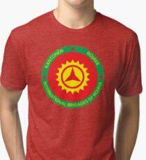 International Brigades of Rojava Tri-blend T-Shirt