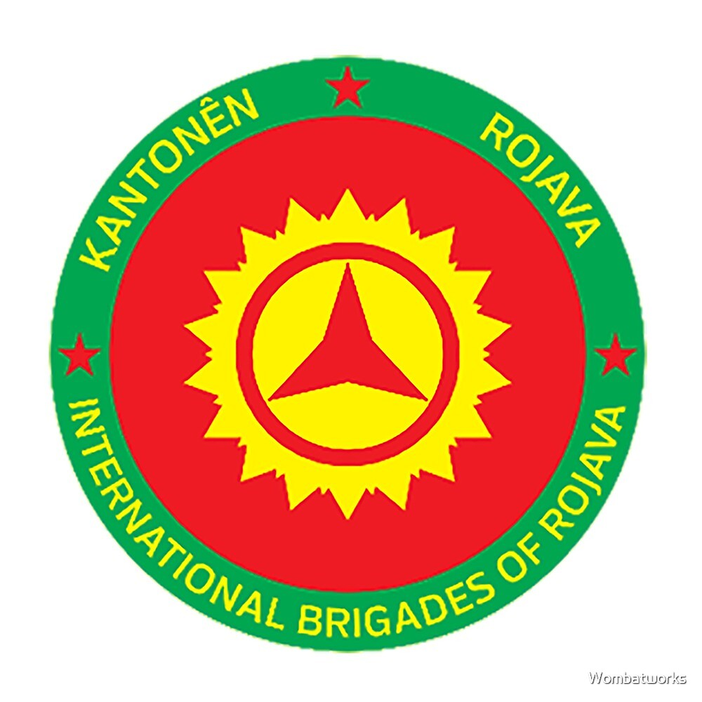 International Brigades of Rojava by Wombatworks