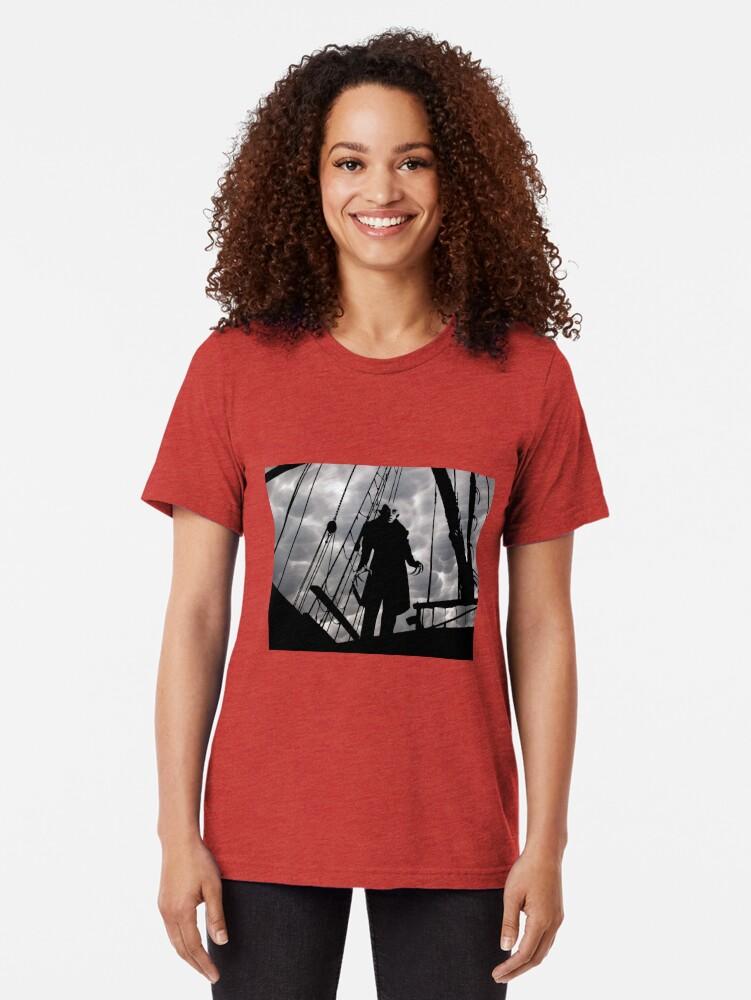 Alternative Ansicht von Nosferatu - Immer noch der gruseligste Vampir Vintage T-Shirt