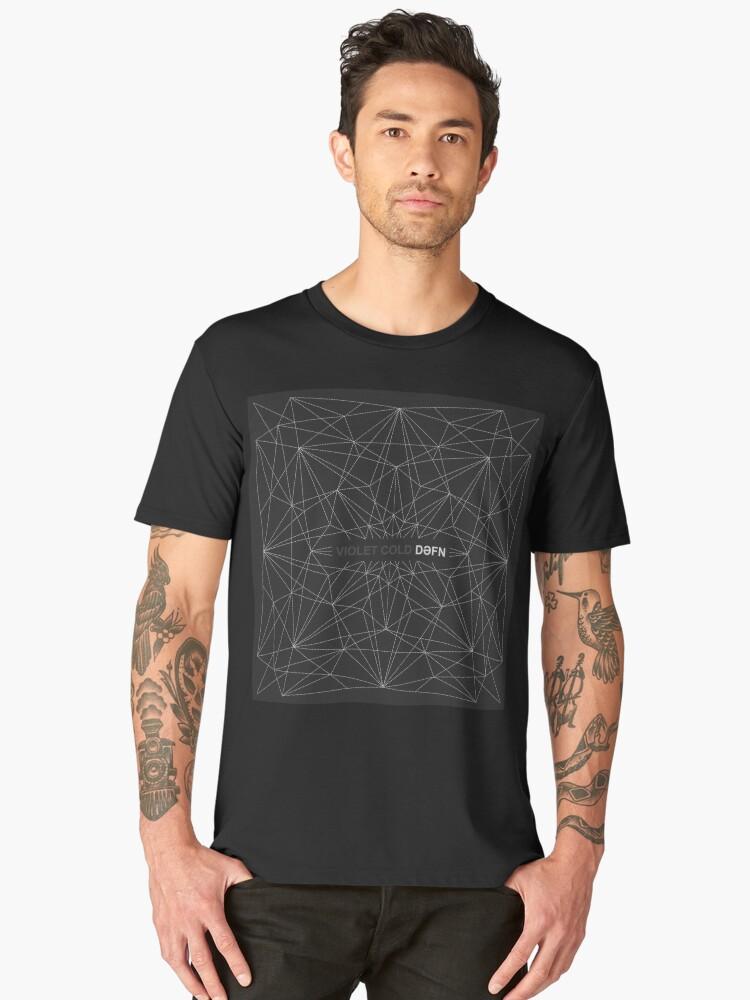Violet Cold - Dəfn Men's Premium T-Shirt Front
