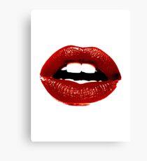 Lippen Leinwanddruck