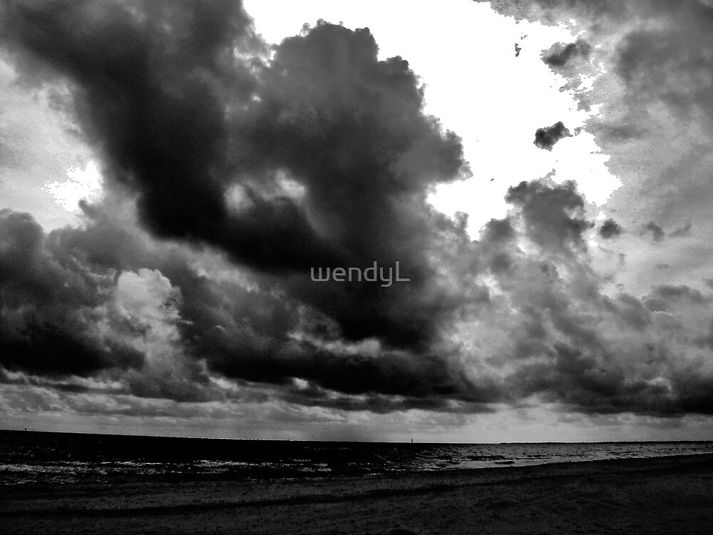 angry beach by wendyL