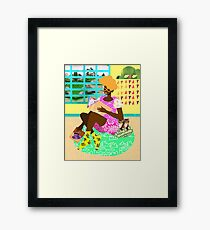 Kitten Room Framed Print