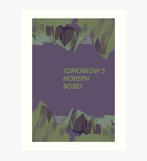 Tomorrow's Modern Boxes Art Print