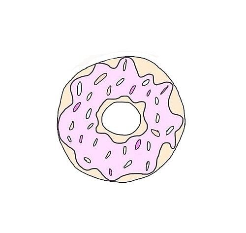 pastel donut by hloverman