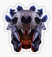 Bloodseeker Low Poly Art Sticker