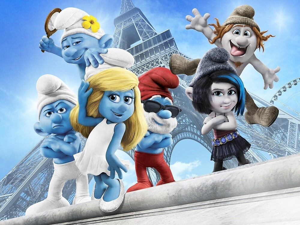 OS SMURFS by ramsteinbill