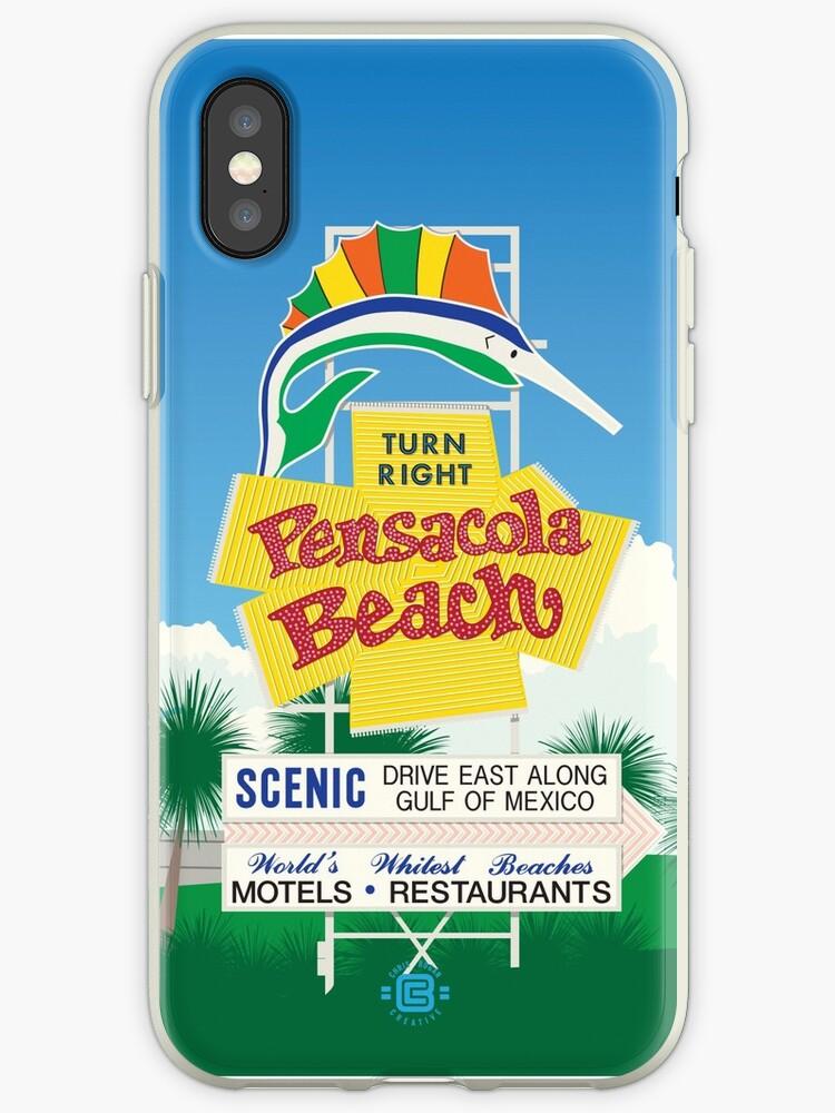 """""""Pensacola Beach Sign"""" by Chris Bogan"""