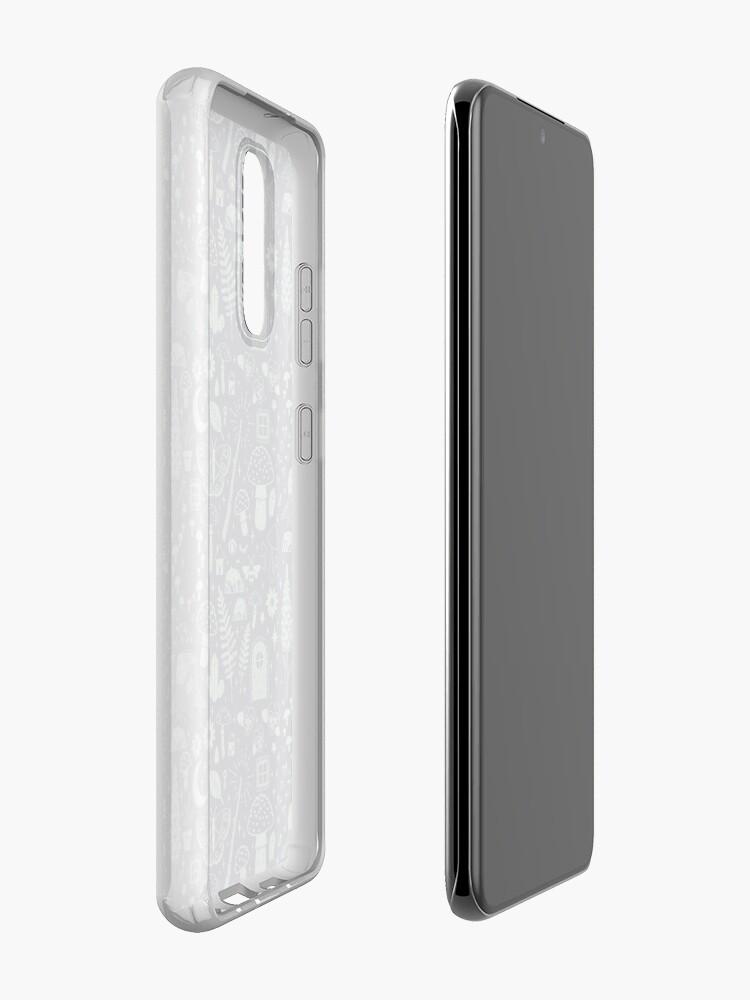 Alternate view of Fairy Garden: Midnight Case & Skin for Samsung Galaxy