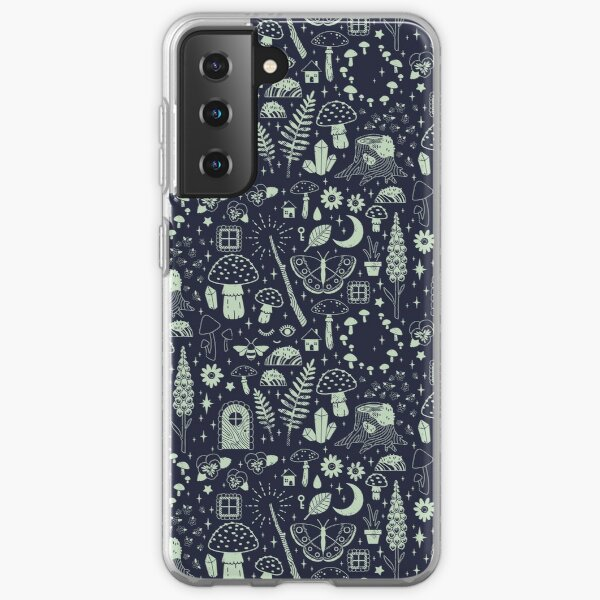 Fairy Garden: Midnight Samsung Galaxy Soft Case