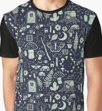 Fairy Garden: Midnight Graphic T-Shirt