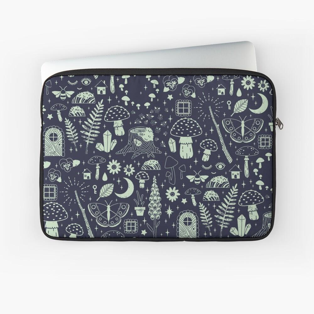 Fairy Garden: Midnight Laptop Sleeve