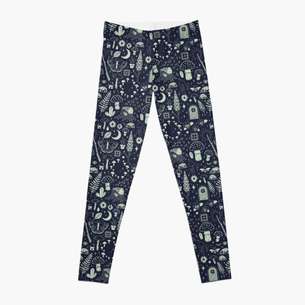 Fairy Garden: Midnight Leggings
