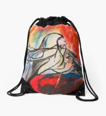 Chasing The Rain Drawstring Bag