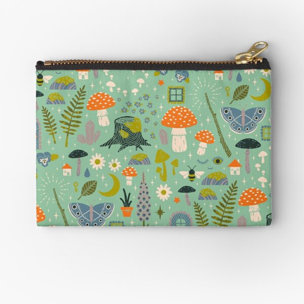 Fairy Garden Zipper Pouch