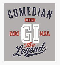 Comedian Original Photographic Print
