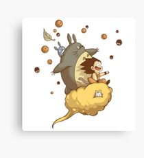 Totoro - Dragon Ball Canvas Print