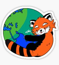 Save the Planet, Save the Pandas Sticker