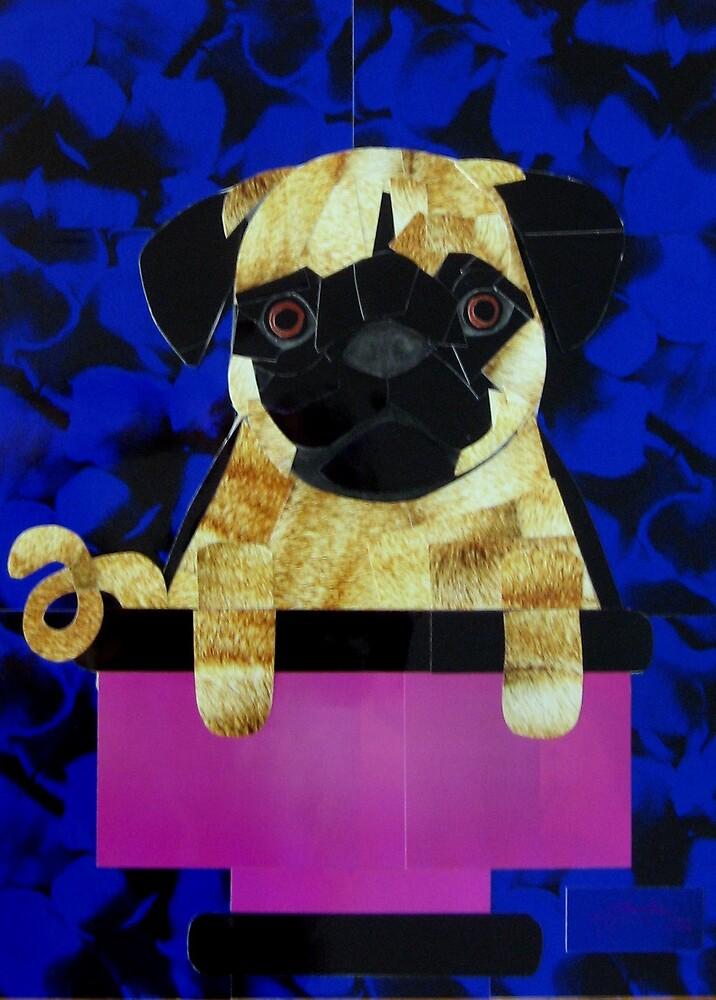 Dog Portrait- Pug by galberto