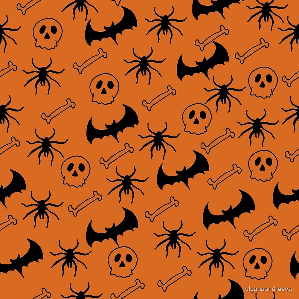 Halloween pattern by ulyanaandreeva