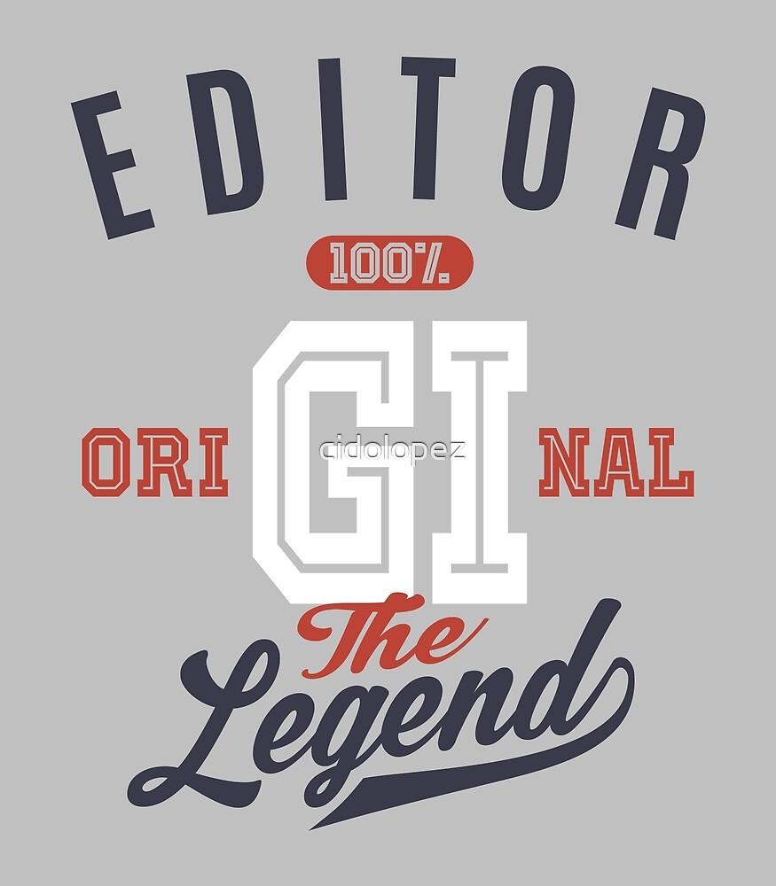Editor Original by cidolopez