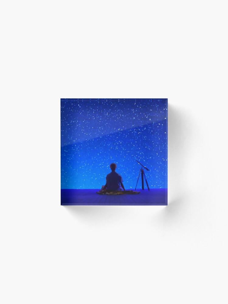 Alternate view of BTS Jimin - Serendipity 4 Acrylic Block