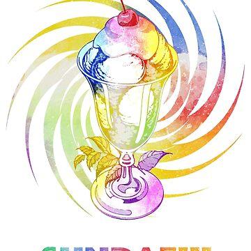 Sundae!!! T-Shirt by Printiff