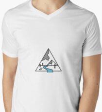 outdoors Men's V-Neck T-Shirt