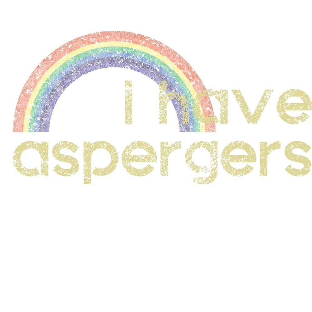 I Have Aspergers Rainbow by crayonista