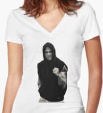 Ryan Gosling Mad Women's Fitted V-Neck T-Shirt