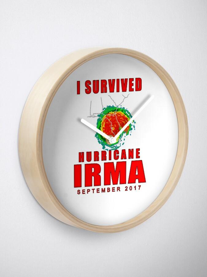 Alternate view of I Survived Hurricane Irma Clock