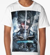 Metal Gear Rising - Raiden 1 - T-Shirts/Phone Cases/Graphic T-Shirts/And Tons More! Long T-Shirt